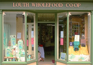 Louth Wholefood Coop Store Front